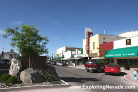 Downtown Fallon, Nevada
