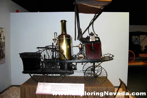 Photographs Of The National Auto Museum In Reno Nevada