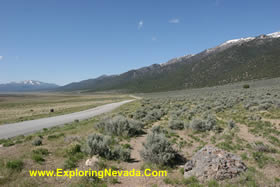 The Ruby Valley Scenic Drive In Nevada Photos Maps And