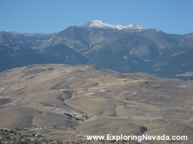 The Virginia City Scenic Drive In Nevada Photos Maps And Information